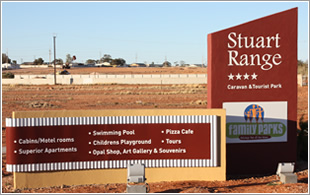 Stuart Range Caravan Park - Accommodation Melbourne