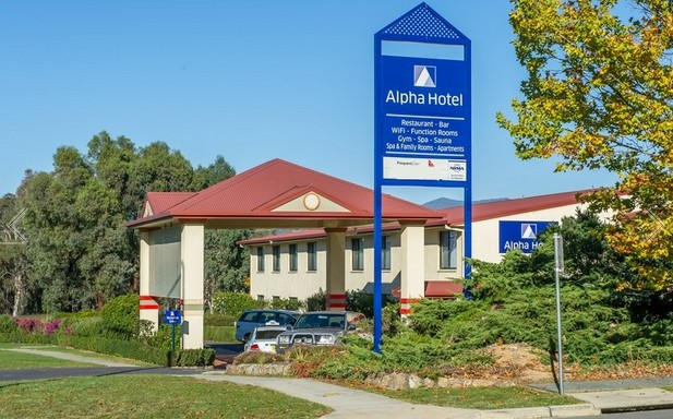Alpha Hotel Canberra - Accommodation Melbourne