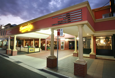 The Commodore Motor Inn - Accommodation Melbourne