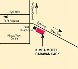 Kimba Motel Caravan Park - Accommodation Melbourne