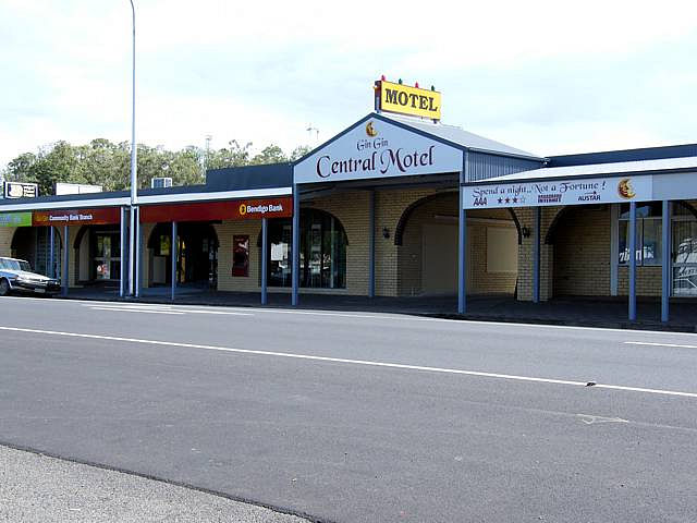 Gin Gin Central Motel - Accommodation Melbourne