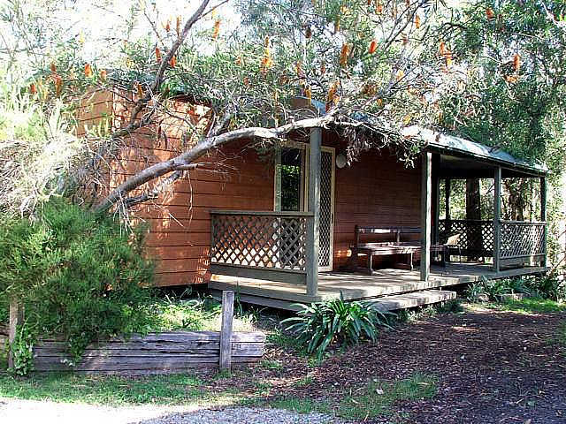 Jervis Bay Cabins  Hidden Creek Real Camping - Accommodation Melbourne