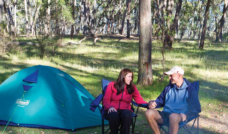 Apsley Falls campground - Accommodation Melbourne