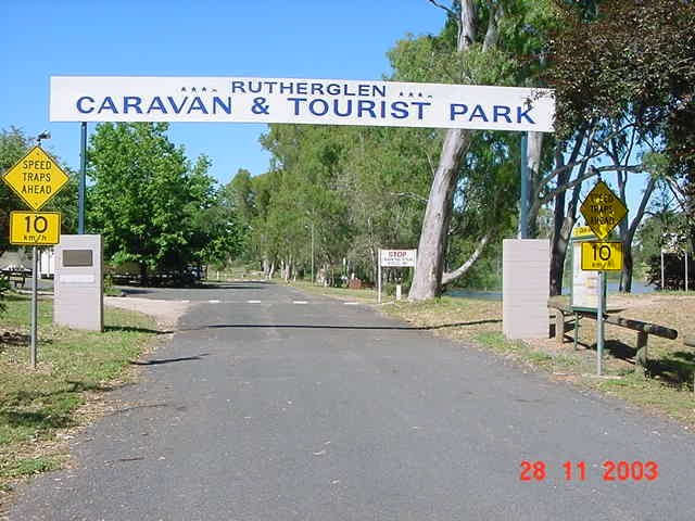 Rutherglen Caravan  Tourist Park - Accommodation Melbourne