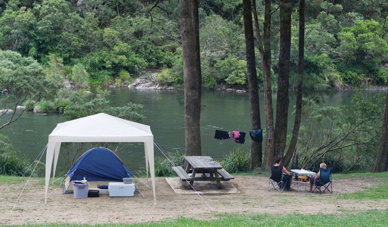 Platypus Flat campground - Accommodation Melbourne