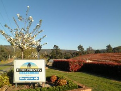 Hume Country Motor Inn - Accommodation Melbourne