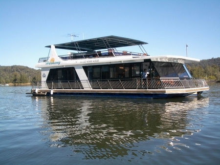 Able Hawkesbury River Houseboats - Accommodation Melbourne