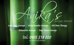 Anikas Massage Therapy - Accommodation Melbourne