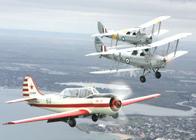 Vintage Tiger Moth Joy Flights - Accommodation Melbourne