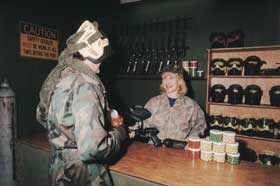 Indoor Skirmish - Paintball Sports - Accommodation Melbourne