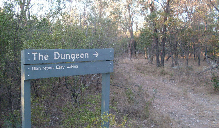Dungeon lookout - Accommodation Melbourne