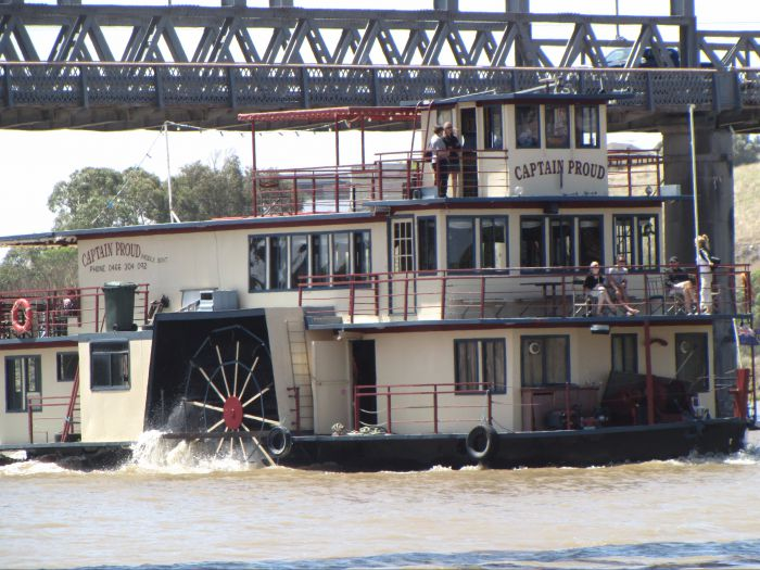 Captain Proud Paddleboat Cruises - Accommodation Melbourne
