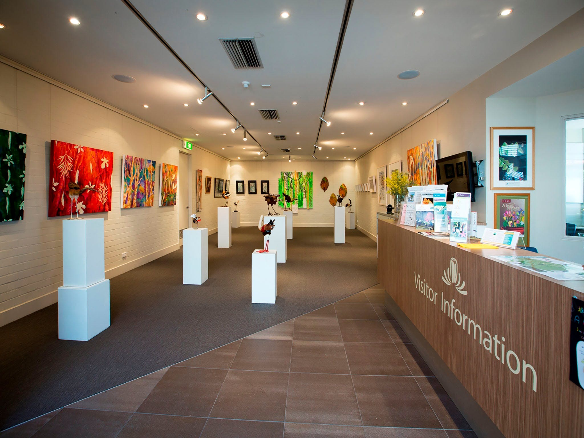 Australian National Botanic Gardens Visitor Centre Gallery - Accommodation Melbourne