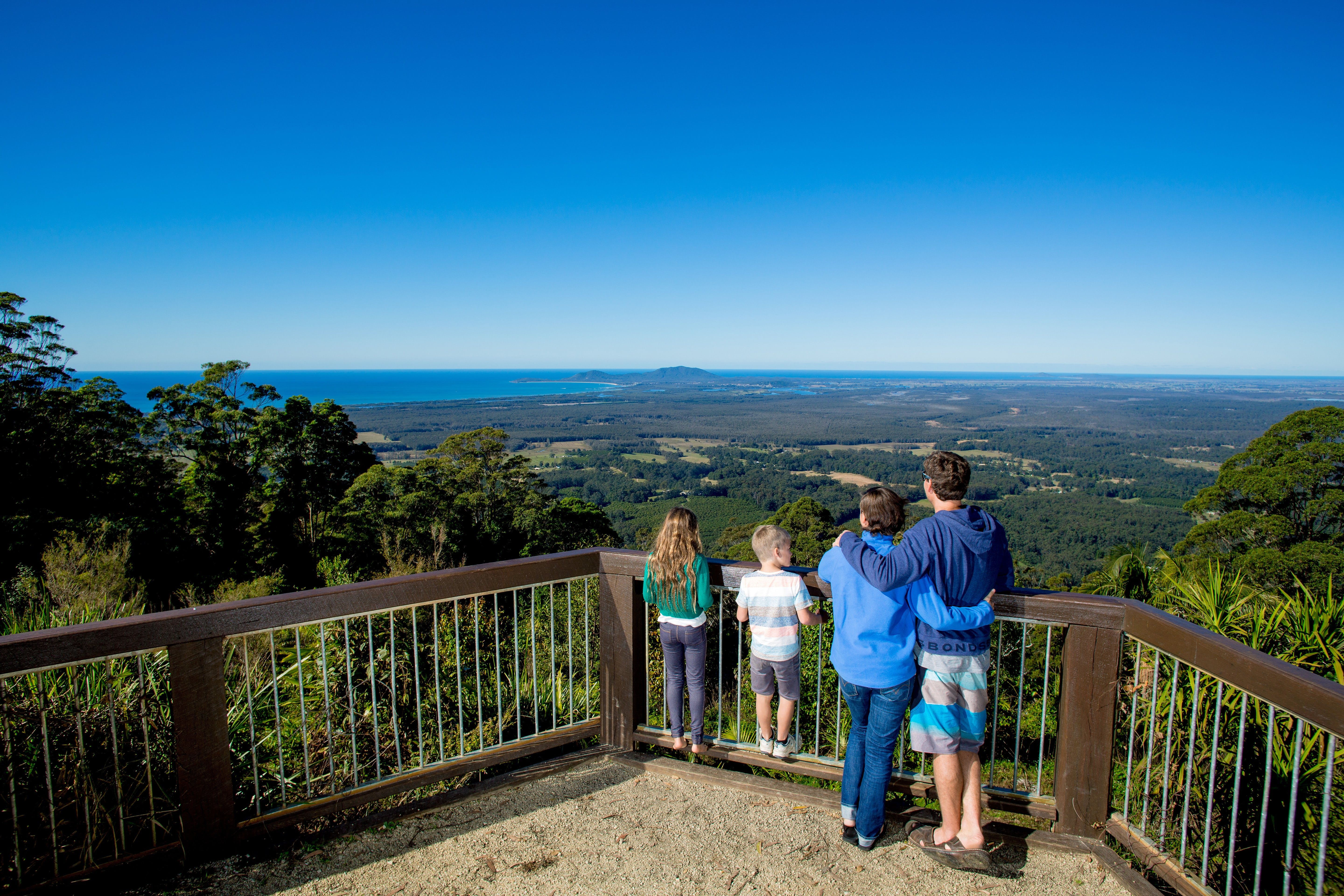 Mount Yarrahapinni Lookout - Accommodation Melbourne