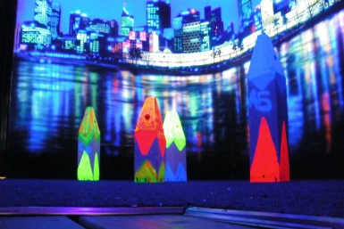 Family Fun Centres Black Light Mini Golf - Accommodation Melbourne