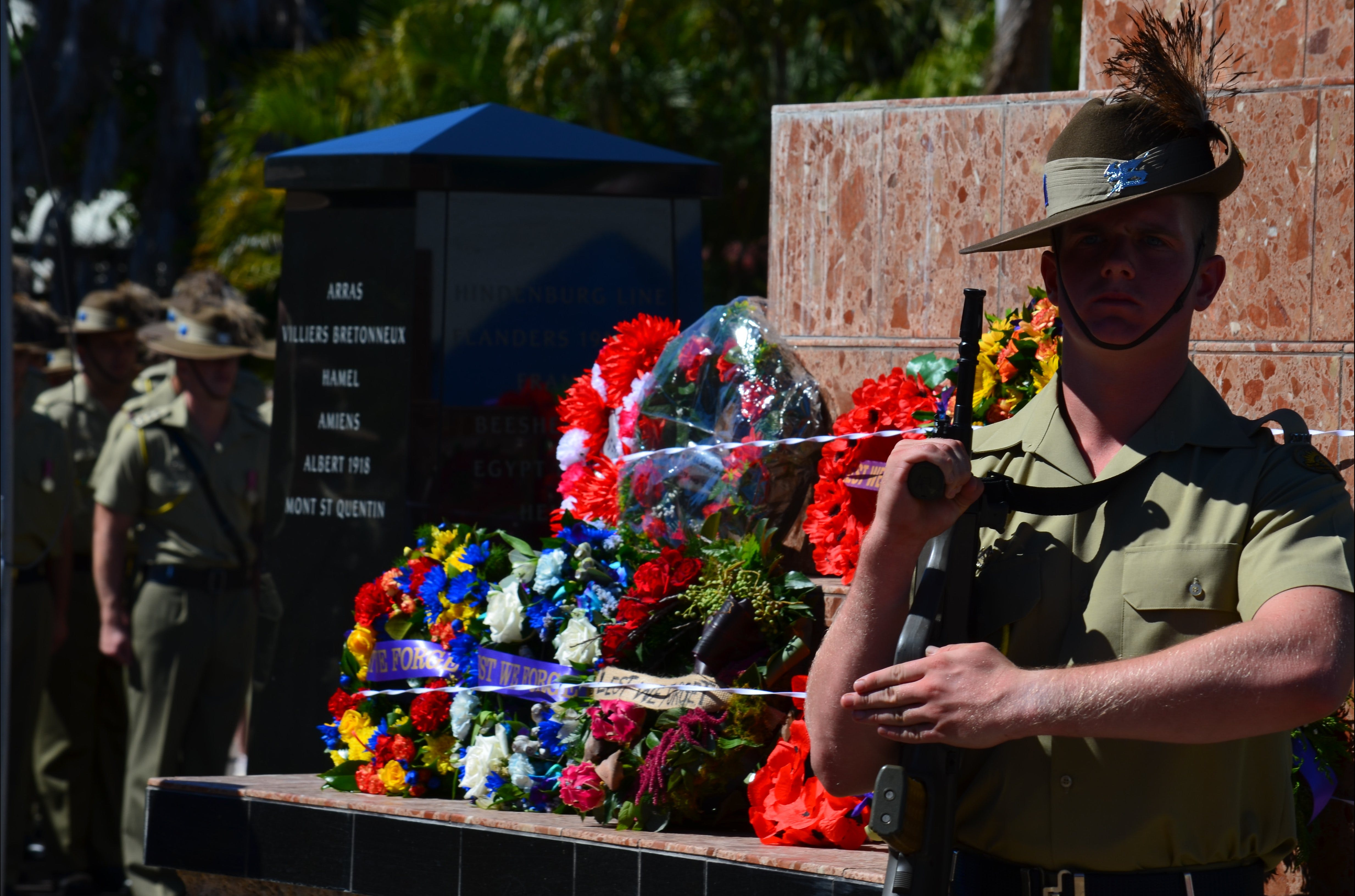 Anzac Day Charters Towers - Accommodation Melbourne
