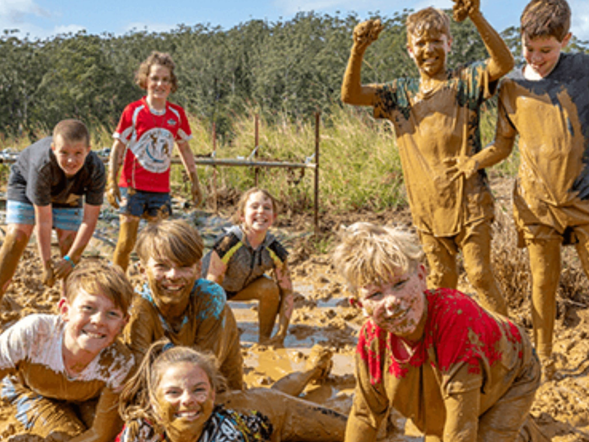 Mini Muddies Obstacle Challenge at Bunnamagoo Estate - Accommodation Melbourne