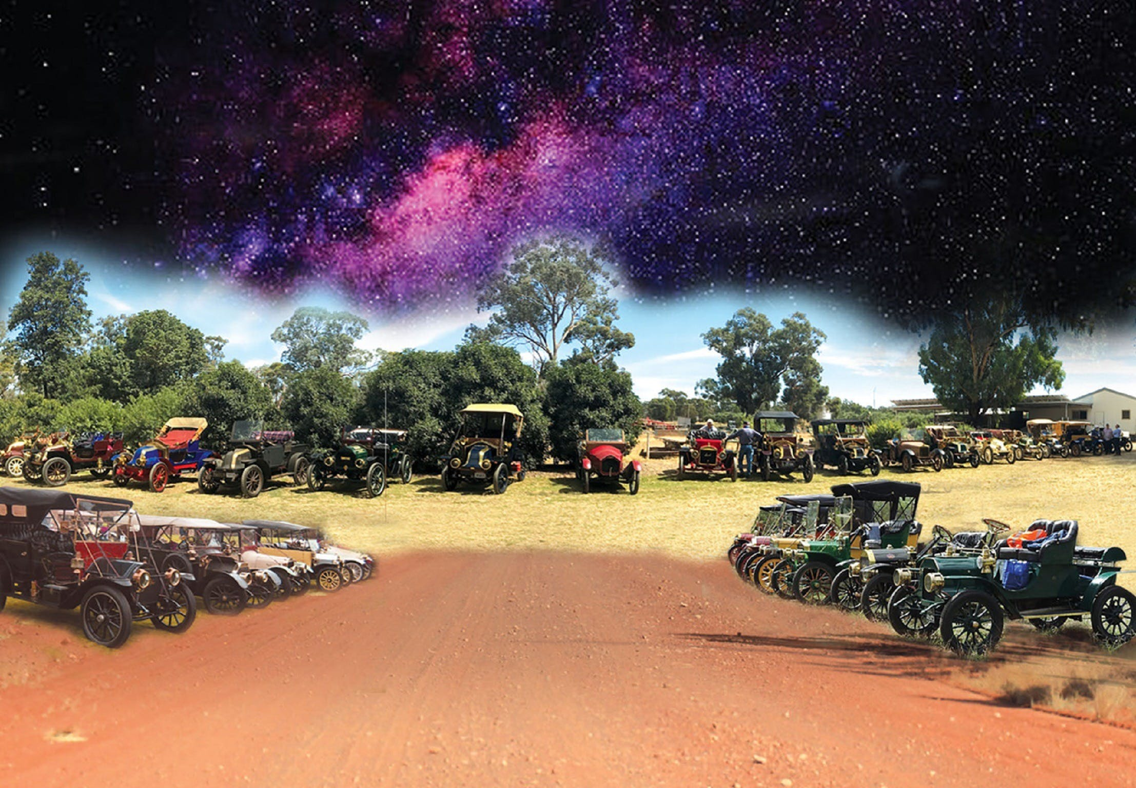 National Veteran 1 and 2 Cylinder Rally - Accommodation Melbourne