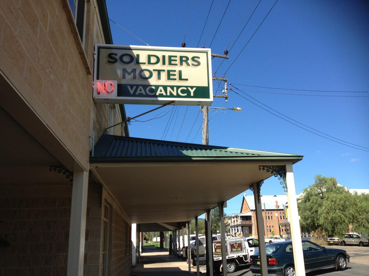 Soldiers Motel - Accommodation Melbourne
