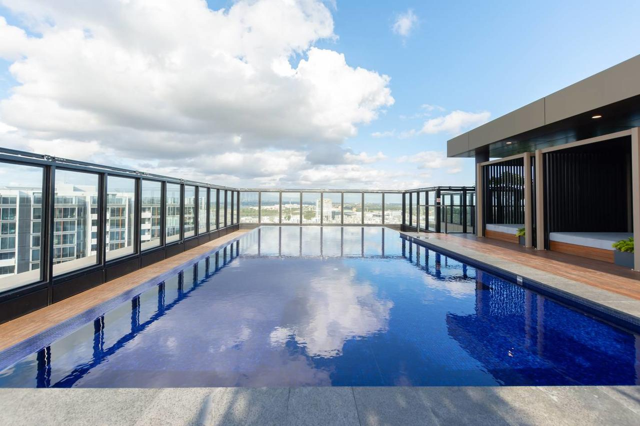 Japanese Style waterfront apt wt rooftop pool - Accommodation Melbourne